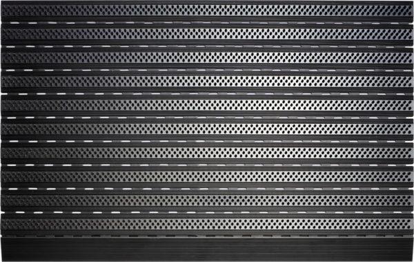 Borstelmat TOP LINE | black en pure black