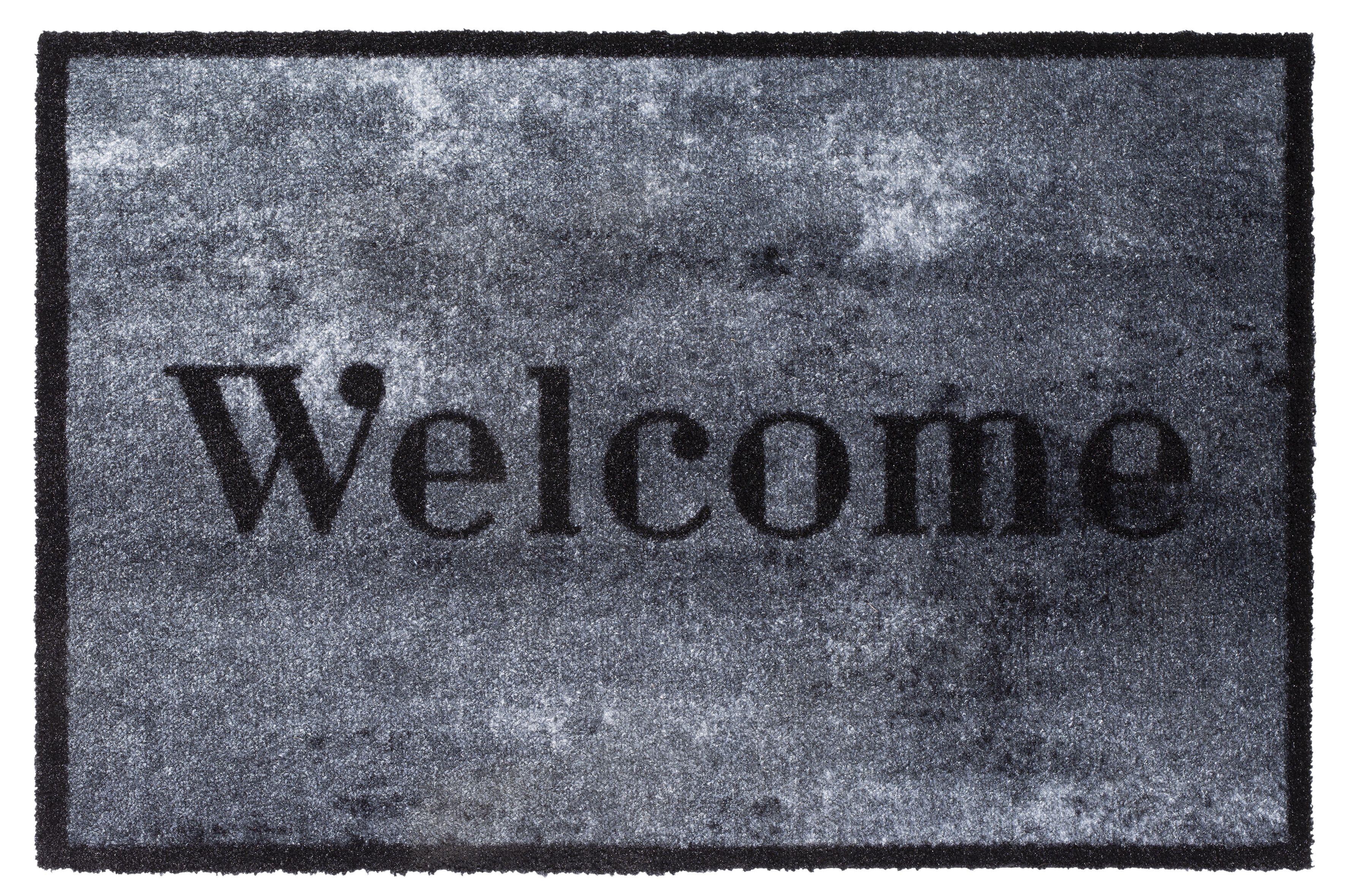 037 welcome concrete 50×75